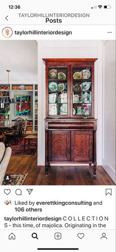 China Cabinet, Dining Room, Storage, Furniture, Home Decor, Purse Storage, Decoration Home, Chinese Cabinet, Room Decor