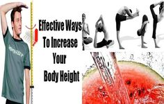 Effective Ways to Increase your Height - I know you are already interested, so let's start. Our bodies are full hormones and each of those hormones has a special job to do and for sure there is a special hormone that is responsible of our growth. So, the