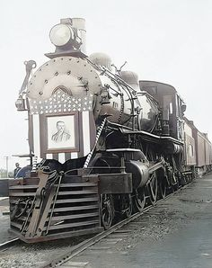 Railroad History, Theodore Roosevelt, Detailed Image, Community, Train, Strollers