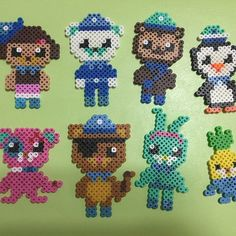 Octonauts perler beads by jin17233