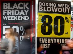 About 1.2 millions Canadians will book off sick from work to shop on Black Friday, but a new study suggests they'll get slightly better deals if they can wait until Boxing Day