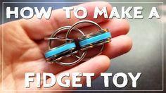 Fidget Toy Review: https://www.youtube.com/watch?v=6IDotDEA5XI Measurements: Keyring: 2.5cm in diameter Links: 2.2cm long Rubber band: 3mm wide x 1.5cm diame...