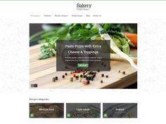 Bakery is a food free HTML template for food website, recipe and culinary template. Fully responsive, rich template with advanced search form. Single recipe includes list with ingredients, gallery and related recipes. Download this template and try it out right now!
