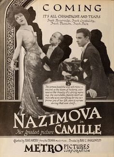Camille (1921) Advertisement - Rudolph Valentino - Wikimedia Commons