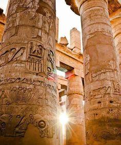 Karnak sunlight