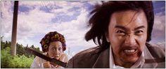 Gotta love Kung Fu Hustle - the chase scene.