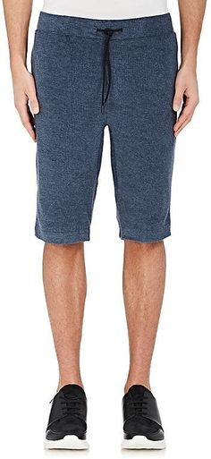 Theory MEN'S REVERSE FRENCH TERRY SHORTS