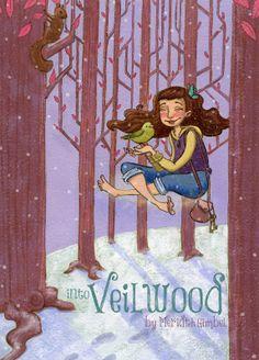 Octopus Ink Illustration by Meridth Gimbel: Into Veilwood