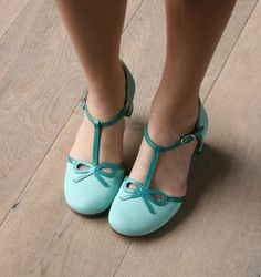 Chie Mihara mint maryjane sandals. Perfection!