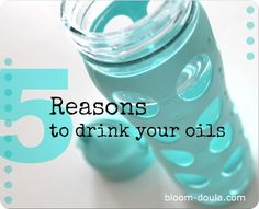 Drink up! It*s good for you, only doTERRA! Contact me with more information about these oils! mailto:gingeralee...