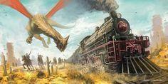 Wild West Dragon by AlbyU.deviantart.com