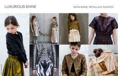 Kid's Wear - Trend Fall/Winter 16-17_Luxurious Shine