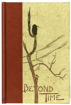 Beyond Time - Gwen Frostic - Vintage Poetry Block Printing Art Nature Book 1960's $15.00