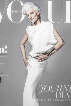 Maye Musk just became the oldest ever CoverGirl at 69 Vogue, Stylish Older Women, Maye Musk, Nice Dresses, Vogue Covers, Style, World Of Fashion, Stylish, Fashion