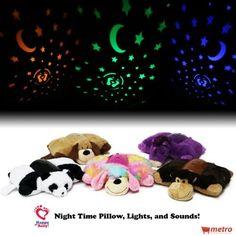 Baby Pillows, Pillow Pets, Plush Pillow, Neck Pillow, Animal Pillows, Night  Light, Panda Bears, Stuffed Animals, Animal Cushions 5b3e4445688
