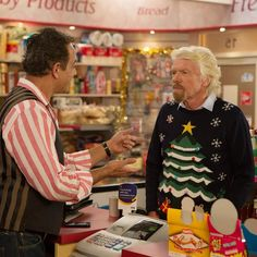 Festive fun on #CoronationStreet #xmasjumperday by richardbranson