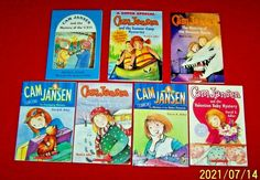 Cam Jansen Chapter Books Lot of 9 Stories Abby Klein Grades 2nd 3rd Teachers Reading Levels, Mystery Books, Chapter Books, Book Girl, Guided Reading, Childrens Books, Classroom, Collections, Baseball Cards