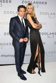 """Celeb photos of the year 2016:   Ben Stiller and Heidi Klum attend a fan screening event of """"Zoolander 2"""" at the State Theatre in Sydney on Jan. 26, 2016."""