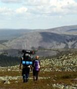 hiking in lapland