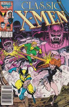 Classic X-Men #6 /  Arthur Adams Cover Art / Merry Christmas, X-Men — The Sentinels Have Returned!
