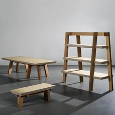 Gruff is a #collection of cardboard furniture by Arno Mathies of Real-Made (milan 2009)