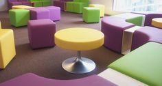 Classroom furniture I aspire to have! School Library Decor, Library Chair, Library Ideas, School Libraries, Children's Library, Library Inspiration, College Library, Dream Library, Elementary Library