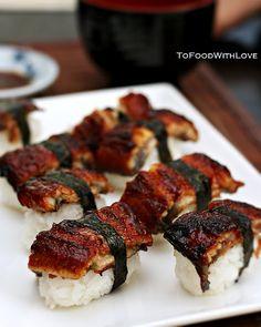 Unagi Sushi, one of my favourite sushi dishes