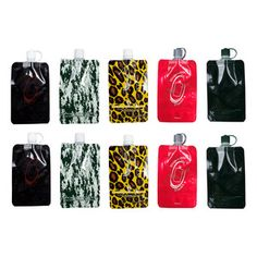 Disposable flask!!!!! Multi Colors 10 Pack now featured on Fab.