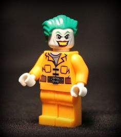 Custom Jail Break Joker. DC Comics Super Villain Minifigure. Lego Compatible. by…