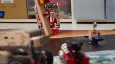 Робототехника Лего - запуск ракеты
