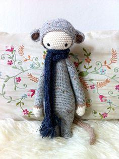 Crochet Pattern Doll RADA the rat PDF by lalylala on Etsy