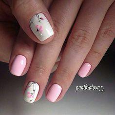 Nails floral 50 Beautiful Floral Nail Designs For Spring - Page 30 of 50 50 Beautiful Floral Nail Designs For Spring - Page 30 of 50 - Chic Hostess Nail Designs Spring, Cool Nail Designs, Spring Nails, Summer Nails, Nagel Gel, Flower Nails, Creative Nails, Perfect Nails, Toe Nails