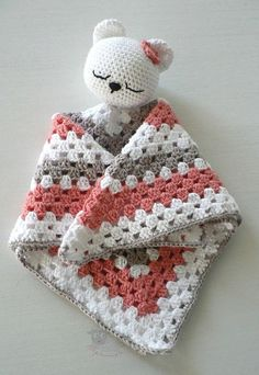 Security blanket |Baby Shower Gift| New Mom Shower Gift| Baby Birthday Gift | Bear Safety Blanket| Baby Safety Blanket|Cute baby lovey Crochet Security Blanket, Crochet Lovey, Baby Security Blanket, Crochet Gifts, Crochet Blanket Patterns, Baby Blanket Crochet, Crochet Toys, Free Crochet, Bear Blanket
