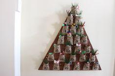 DIY Tree Advent Calendar | Pottery Barn Knock Off | Free Plans | Rogue Engineer