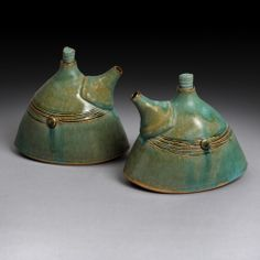 Oil & Vinegar Set by Yael Shomroni Pottery