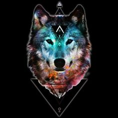 Sacred Wolf is a T Shirt designed by shannontoohey to illustrate your life and is available at Design By Humans