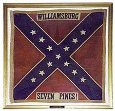 VA battle flags | restored 17th Virginia Infantry Battle Flag