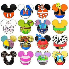 Disney Mystery Pin Set - Mickey Mouse Icon