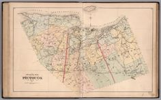 Outline Map of Pictou County, Nova Scotia, 1879. - David Rumsey ...