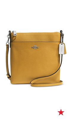 20e5717bbb99 COACH North South Swingpack in Embossed Textured Leather Handbags    Accessories - COACH - Macy s