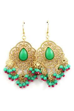 Dreamy Madori Chandelier Earrings on Emma Stine Limited