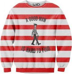 HelloGiggles: A Good Man Is Hard To Find Sweatshirt-