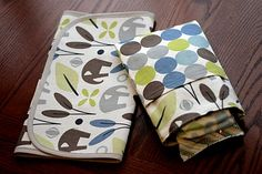 changing pad and diaper/wipes case in one