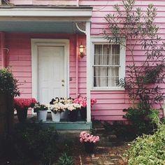 Sweet little pink house