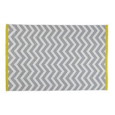 Teppich Wave Hellgrau/Gelb (140x200) bei Maisons du Monde für 89,90 EUR