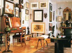 Robert Mapplethorpe's loft apartment in Manhattan ca.1988