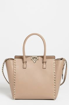 Valentino 'Rockstud' Double Handle Leather Tote | Nordstrom