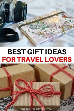 Looking for travel gift ideas? This is the ultimate travel gift guide with the best travel gifts for every budget! | christmas travel gifts | travel gifts for men women | travel gifts for friends | travel gifts for kids | travel gifts for couples | present for traveler gifts for travelers | cute fun small travel gifts | travel gift box | unique gifts for travelers | small gifts for travelers | travel gifts for her him | travel stocking stuffers | travel stocking stuffer ideas Travel Essentials, Travel Tips, Travel Hacks, Travel Packing, Travel Ideas, Christmas Travel, Holiday Travel, Christmas Gifts, Best Travel Gifts