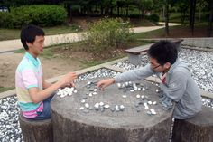 Playing outside - Go Go Igo ! Go Board, Future Games, Go Game, Traditional Games, Strategy Games, Ancient China, Tabletop Games, Pen And Paper, Card Games
