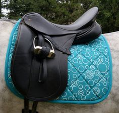 Dressage or Close Contact Custom Saddle Pad. $68.00, via Etsy.